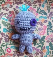 Amigurumi Voodoo Doll by oddSpaceball
