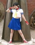 Sakura Kasugano Cosplay by chloebs