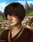 Banished Prince - ZUKO by ReneeViolet
