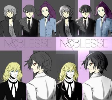 Noblesse - VN App Title Screen by Keian-nr
