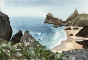 Kynance Cove Take Two by ZurinaRose