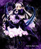 Suigintou by Aluy