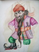 Mohammed the dwarf by Hekkil