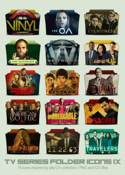 TV Series Folder Icons IX by call-me-special