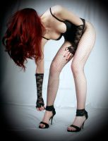 Bending over in stockings by Aszap