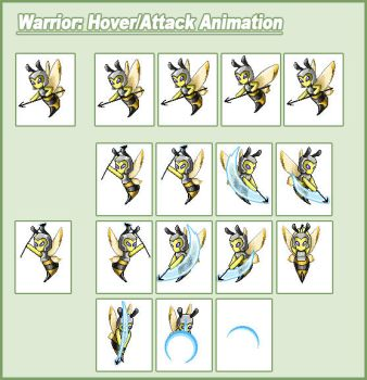 Warrior Animation by CWSSoftware