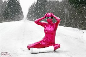 Zentai Winter Fetish 05 by AgnaDevi