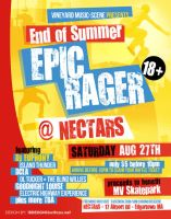 Epic Rager Flyer by AnotherBcreation