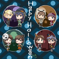 Happy Halloween~ Corpse Party! by DeliciousCreamPuffs