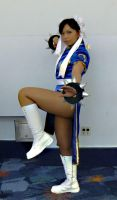 Chun Li Cosplay AM2 Con 2012 by LexLexy