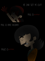 Paulie Is Bloody... by IndieChickZoey