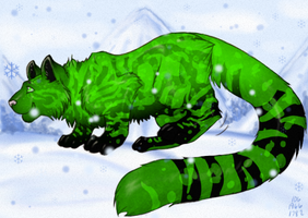 Mweor Adoptables: Toxic by Jupiter-Foxclaw