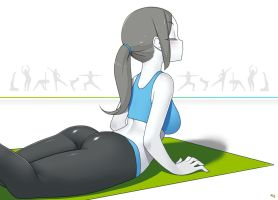 Wii Fit Trainer by Kuroonehalf