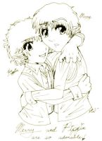 Merry and Pippin are so cute by bradsgurl