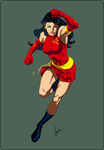 Donna Troy for Xiaoniao by sean-izaakse