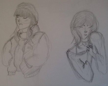 Grill sketches by JinxNova666