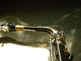 Alto Saxophone Mouthpiece by FreezingDarkFantasy