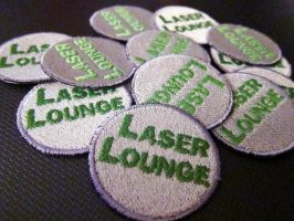 Laser Lounge patches by shushuwafflez