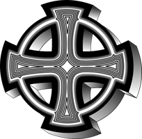 Celtic cross by froshellin