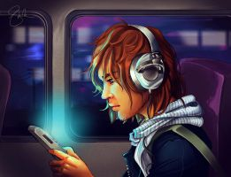 Youtube | Train Journey by shellz-art