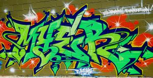 4ever graffiti by SilencingHonesty