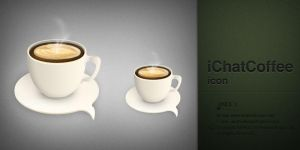 ichatCoffee icon by AndexDesign