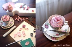 Rose cupcakes step-by-step by Verusca