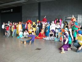 Pokemon Group 001 May 2014 London Comic Con by Vande-Bot
