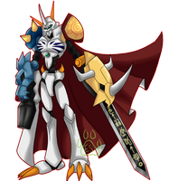 Commission: Omnimon by EmeraldSora