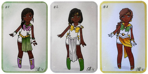 Senshi Adopt Set 4: PLANTS -CLOSED- by MTToto