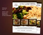 Free Flyer PSD Template - Invitation to a Luncheon by GotoNhat