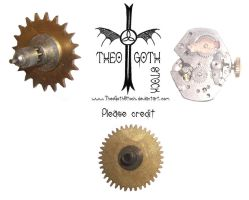 Gears and Clockwork by TheoGothStock