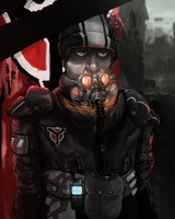 Revisited Helghast Soldier by spatss