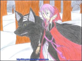 kidxcrona_little red riding hood_colored by khryztal-dark