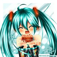 Happy Birthday Miku~ by mintdesu