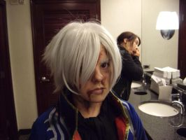 Battle Damaged Vergil Make Up by CeruleanTwin