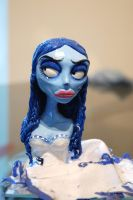 Corpse Bride Bust by Skissored