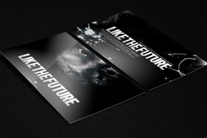 Template flyer Like the Future by MarcosRenatoDesign