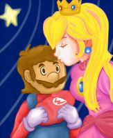 Mario and Princess by M-U-S-I-K