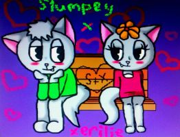 Stumpey and Xerilie by ll-Mila-ll