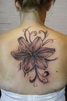 lily thingy by SimplyTattoo