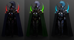 Battle-Cop Maiev Designs by ThunderKunst