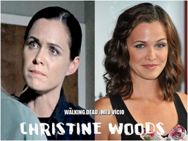 Christine Woods The Walking Dead by twdmeuvicio