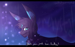 Midnight walk with the fireflies  -kiri- by pampd