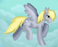 Derpy pianting by Shadowfoxnjp