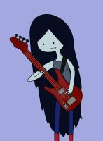 Marceline and her Bass by marizella