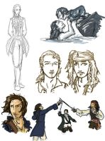 PotC sketches by yamiswift