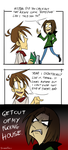 Chris is a Homestuck fanboy. by ReincarnatedParano