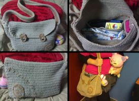 Custom Crochet Pokemon Bag by Taikxo