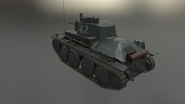 PzKpfw 38(t) 3 by LordTruewulf